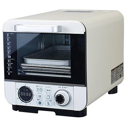 ピエリア オーブントースター ノンオイルフライ 温度調節機能付...