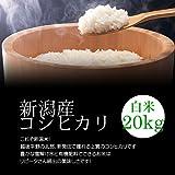 【敬老の日プレゼント】新潟産コシヒカリ 白米(精米) 20kg(10kg×2袋)/冷めても美味しい新潟米