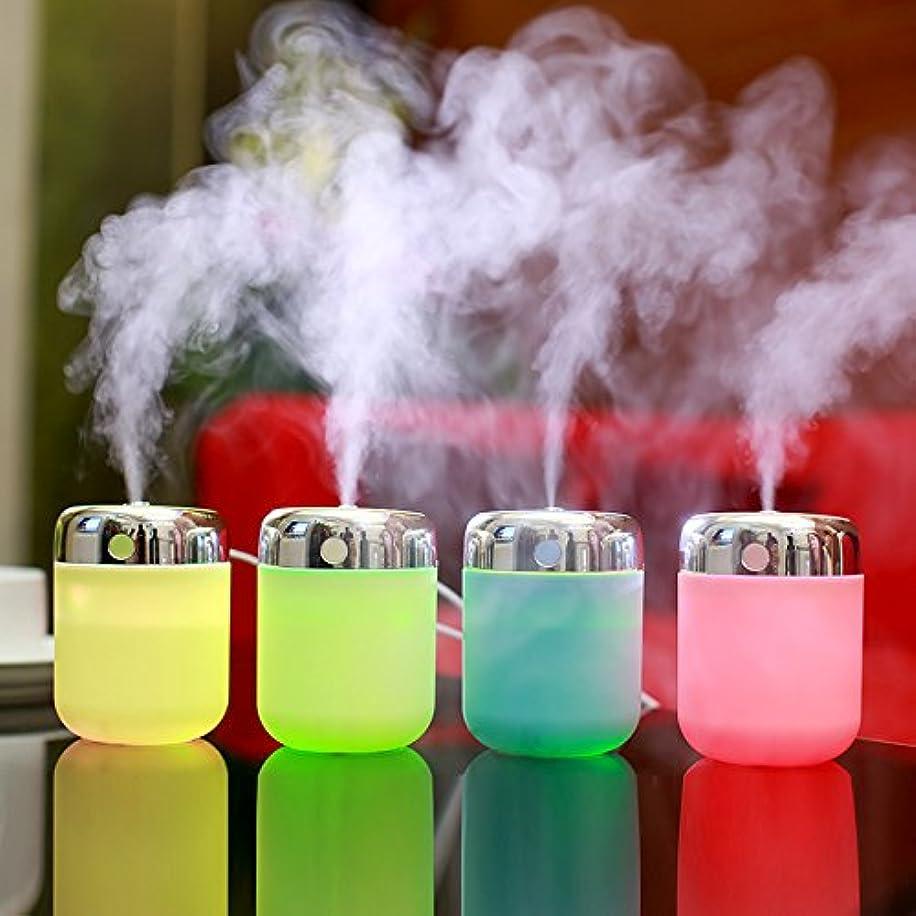 習慣懲らしめ専門用語YG Small Fish加湿器USB充電withカラーLEDランプ加湿器ランダム色