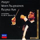 モーツァルト:交響曲第29番&第33番&第34番