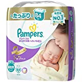 P&G パンパースのはじめての肌へのいちばん 新生児サイズ 84枚入