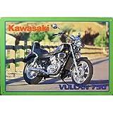 【ブリキ看板】Kawasaki Vulcan 750/カワサキ・バルカン750 [並行輸入品]