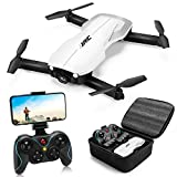 Drones with 1080P Camera for Adults,JJRC H71 Rc Foldable Drone with Optical Flow Positioning, WiFi FPV Live Video Quadcopter for Beginners,22mins Flight Time Indoor Drone for Kids-Altitude Hold