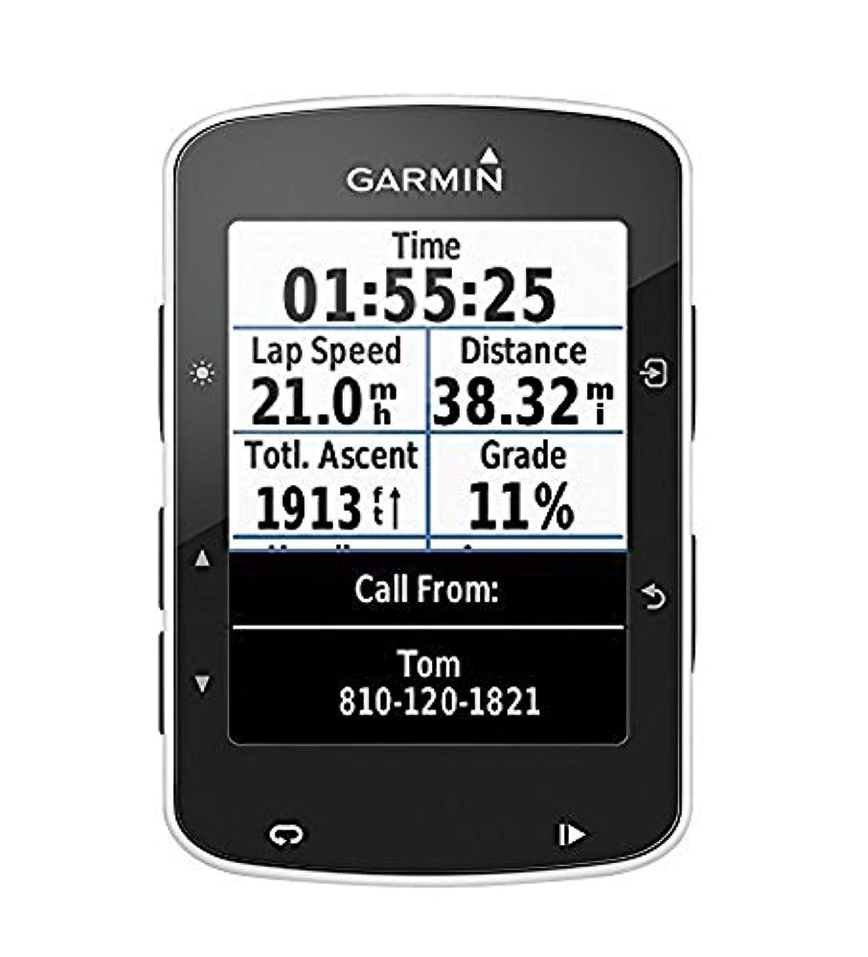 光ラテン音楽を聴くGARMIN(ガーミン) Edge (エッジ) 520 GPS 自転車用 コンピュータ [並行輸入品]