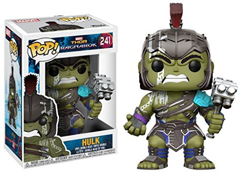 Marvel(マーベル) Thor: Ragnarok(マイティ・ソー/バトルロイヤル) Hulk(ハルク) FUNKO/ファンコ POP MARVEL VINYL ボブルヘッド [並行輸入品]