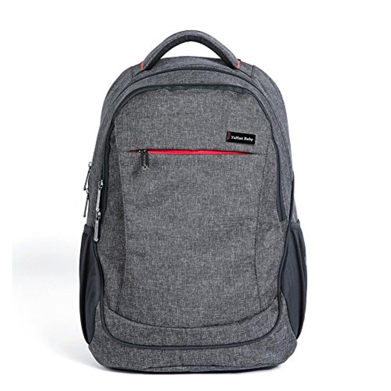 YuHan Oxford Baby Diaper Bag Backpack Diaper Pad Insulation Bag Fit Stroller (Mesh Black) by YuHan