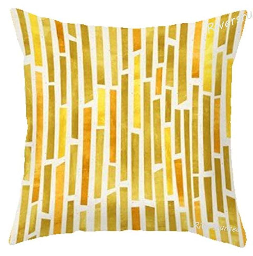 挨拶閉塞普通のLIFE北欧スタイルの家の装飾幾何学的なクッションミニマリスト装飾ゲイリー金箔の花の枕のためのリビングルームの椅子クッション 椅子
