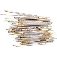 Prettyia 刺繍針 クロスステッチ 刺しゅう針 約100本 No.24