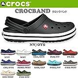 (クロックス)CROCS サンダル クロッグ CROCBAND クロックバンド クロックス 国内 正規品 11016 26cm GRH/WHT crs16-022-GRHWHT-26