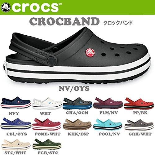 (クロックス)CROCS サンダル クロッグ CROCBAND クロックバンド クロックス 国内 正規品 11016 24cm GRH/WHT crs16-022-GRHWHT-24