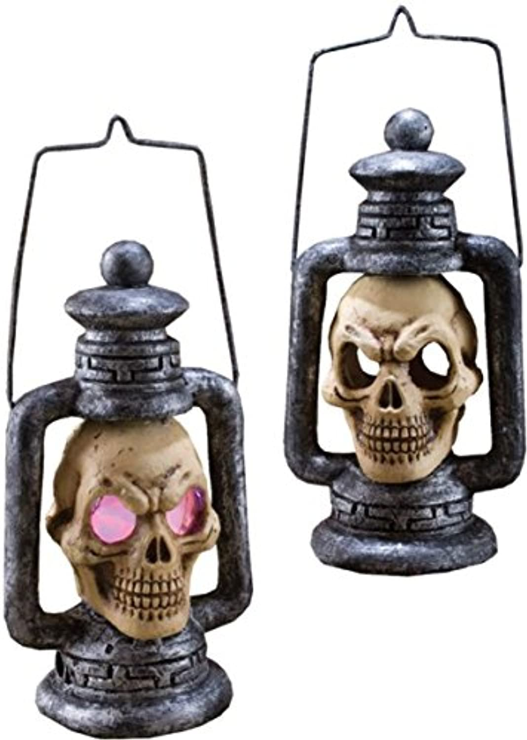 Costumes For All Occasions Fw91041 Skull Lantern Light Up
