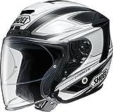 ショウエイ(SHOEI) バイクヘルメット ジェットJ-FORCE4 BRILLER(ブリエ) TC-6 (WHITE/BLACK) L(59cm)
