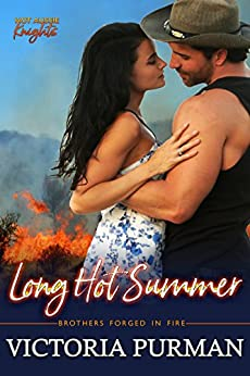 Long Hot Summer (Hot Aussie Knights Book 3) by [Purman, Victoria]