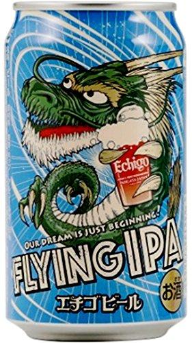 エチゴビール FLYING IPA 缶 350ml 24本 (1ケース)