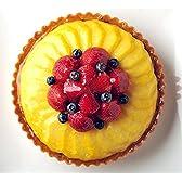 バースデーケーキ お誕生日ケーキ とろけるマンゴーと苺のタルト19cm
