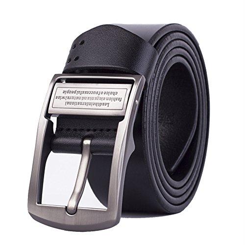 TOPONE メンズ牛革 ベルト サイズ調整可能 120cm