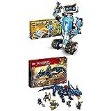 レゴ(LEGO) ブースト レゴブースト クリエイティブ・ボックス 17101 & ニンジャゴー ジェイとイナズマ・ドラゴン 70652