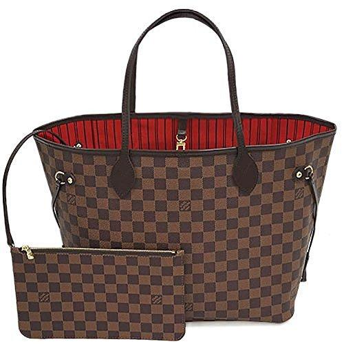 [ルイヴィトン] バッグ LOUIS VUITTON N41358 ダミエ ネヴァーフルMM ポーチ付き ショルダーバッグ [並行輸入品]