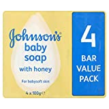 Johnsons baby soap Honey with baby lotion 4 pack