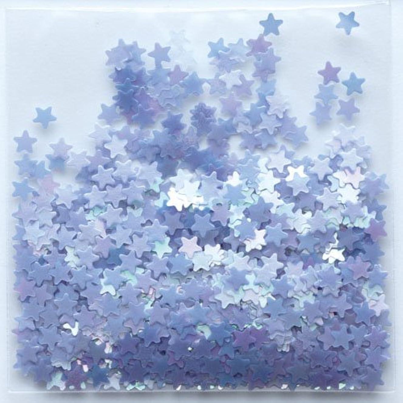 バルーン舗装再生的ピカエース ネイル用パウダー 星パステル #174 ラベンダー 0.5g
