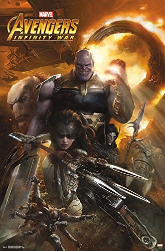 Marvel(マーベル) Avengers: Infinity War(アベンジャーズ/インフィニティ・ウォー) Evil Group ポスター [並行輸入品]