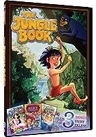 Jungle Book / Snow White / Alice in Wonderland [DVD] [Import]