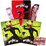 Miraculous Ladybug School Supplies Value Pack -- Folders, Notebook, Pencils and Bookmark