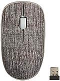 ユニーク Rapoo 2.4GHz ワイヤレスマウス 布製カバー/ダークグレイ/正規代理店品/3510PlusDG