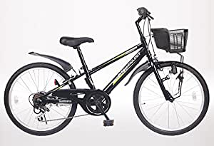 21Technology 22インチ マウンテンバイク kd226 6段ギア付き(ブラック22)