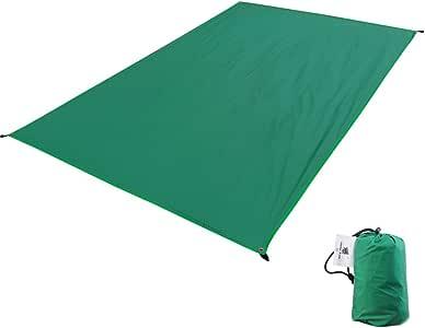 GEERTOP テントシート 軽量 防水 両面シリコナイジング キャンプ 登山 ピクニック グランド マット 1~4人に適用(M/L/XL/XXL/XXXL)