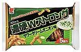 三幸製菓 濃硬Wストロング サワークリームオニオン味 95g×6袋