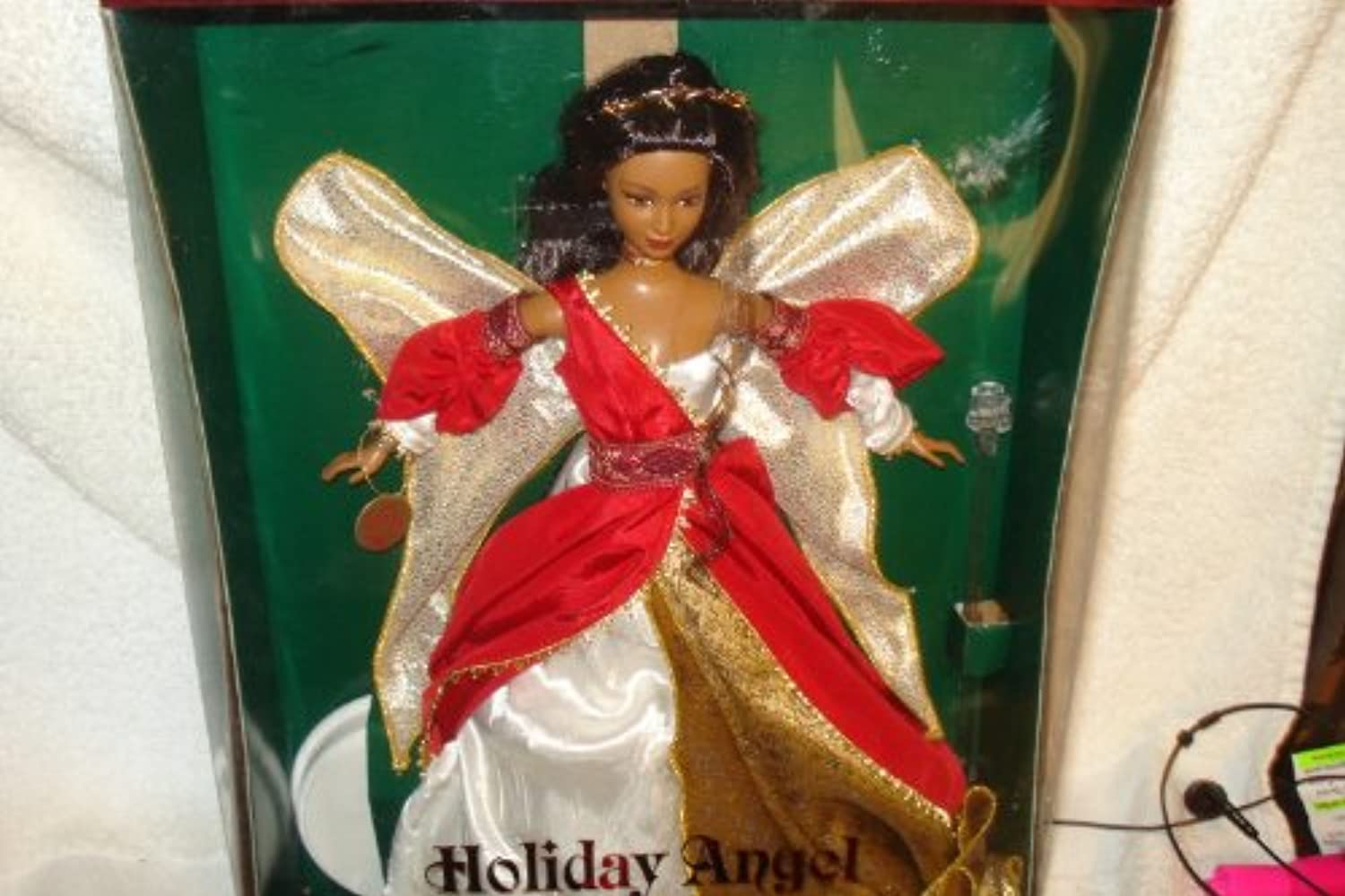 Collectors Edition Barbie Holiday Angel African American Second in Series