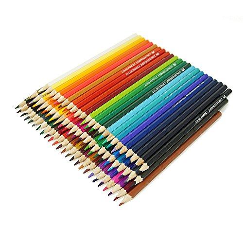 色鉛筆 72色 油性色鉛筆 カラフル スケッチ 塗り絵 イラスト描き 描き用 子供/大人の塗り絵用 …