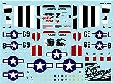 A-470 アシタのデカール 1/144 アメリカ陸軍 P-47D サンダーボルト 「405FG」