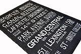 ラグ 絨毯 ビンテージ 風 アンティーク カーペット バスロールサイン No.3 130x190cm 洗濯可能