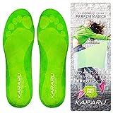 KARARU(カラル) インソール 衝撃吸収 かかと 靴 なかじき クッション 【スポーツに最適】 (S)