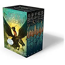 Percy Jackson and the Olympians 5 Book Paperback Boxed Set (new covers w/poster) (Percy Jackson & th