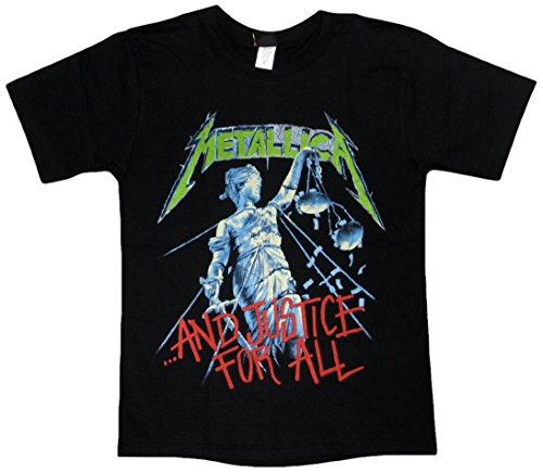 METALLICA/AND JUSTICE FOR ALL/メタリカ/メタル・ジャスティス/ロックTシャツ/バンドTシャツ (M)