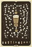 ビールの非常に多くのバリエーション THE VERY, VERY MANY VARIETIES OF BEER silk fabric poster シルクファブリックポスター 90cm x 60cm
