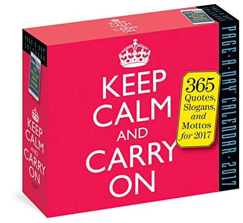 Keep Calm and Carry on 2017 Calendar