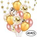 コンフェッティバルーン 誕生日 飾り付け 風船 パーティー 装飾 セット 記念日 飾り JM008