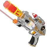 AKOi スーパーハンドガン 光線 レーザー 音銃 おもちゃ サバイバルゲーム ボーイズギフト