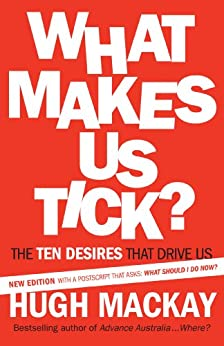What Makes Us Tick?: The ten desires that drive us by [Mackay, Hugh]