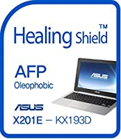 Healingshield スキンシール液晶保護フィルム Oleophobic AFP Clear Film for Asus Laptop X201E-KX193D