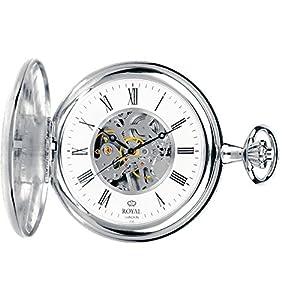[ロイヤルロンドン]ROYAL LONDON 懐中時計 ポケットウォッチ ハンターケース 手巻き 90005-01 【正規輸入品】