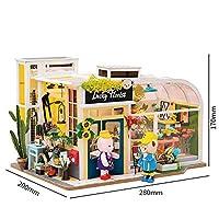 FOR-MULA DIY 家具付き6種類の家 子供 大人 ミニチュア 木製 模型組み立てキット おもちゃ Australia
