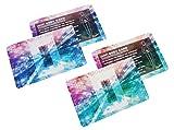 電磁波防止対策の決定版!! カード2色セット 電磁波対策には、まずは放電から 30日間の返金保証あり