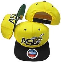 Alabama State Hornetsイエロー/ブラック2トーンプラスチックスナップバック調節可能なプラスチックスナップバック帽子/キャップ