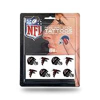 NFL Atlanta Falcons面Tattoos、8点セットby Rico