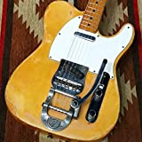 Fender USA/Telecaster with factory original Bigsby Blonde S/N 231135